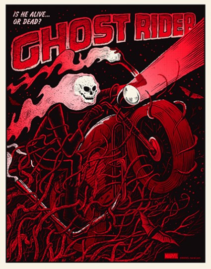 Ghostrider Red Variant