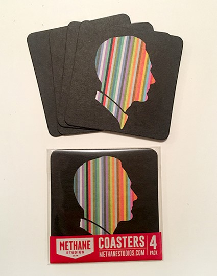 Striped Man Coaster