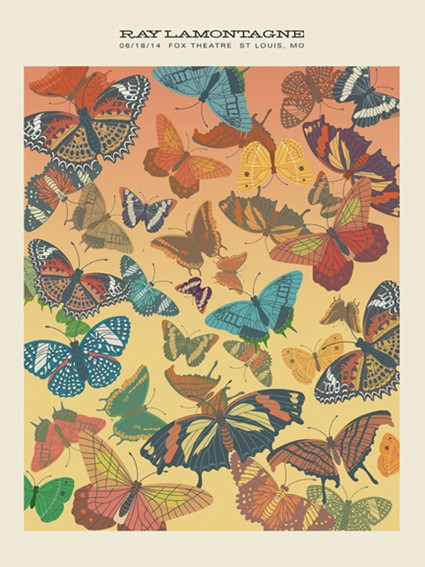 Ray Lamontagne Butterfly