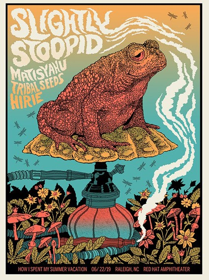 Slightly Stoopid Frog, Raleigh, NC - ON FOIL