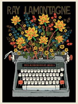 Ray Lamontagne Typewriter