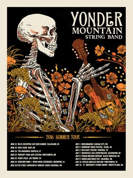 Yonder Mountain 2016 Tour