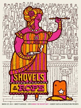Shovels Rope Lady