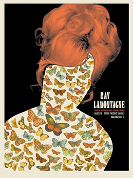Ray Lamontagne Butterfly HEad