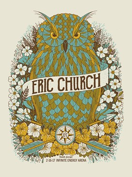 ERIC CHURCH- OWL