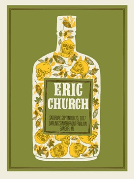 ERIC CHURCH-MAINE BOTTLE